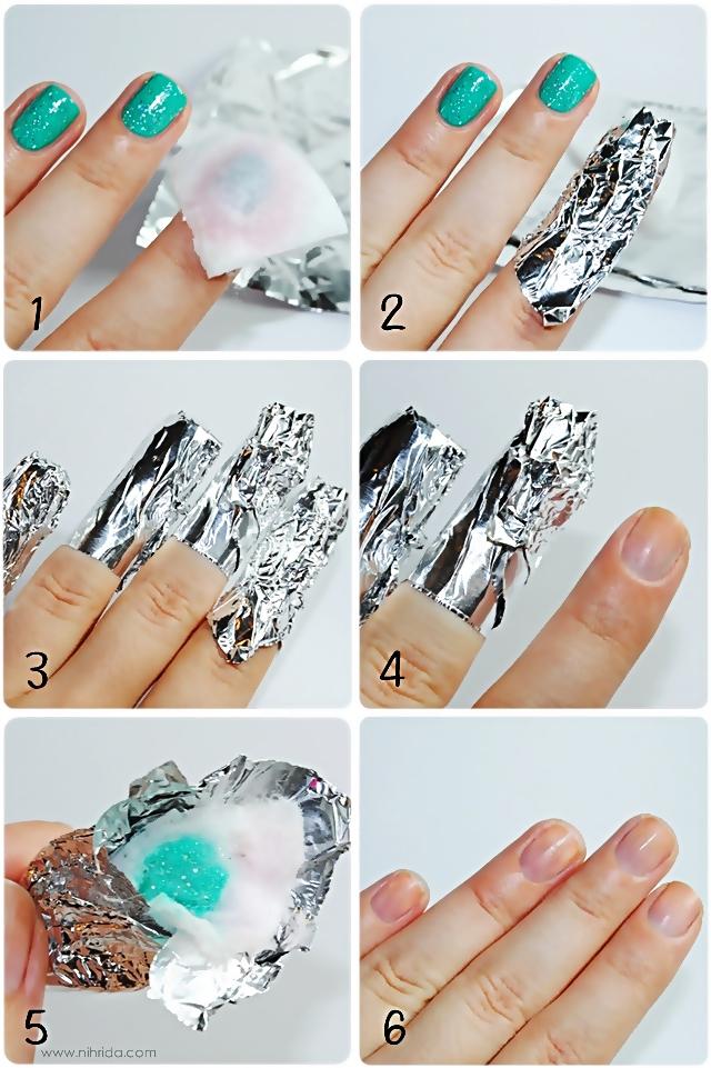Березовый гель лак ногтей